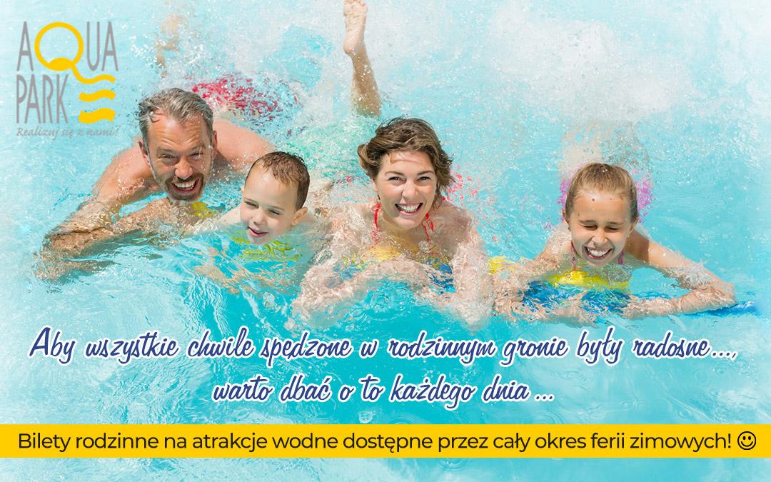 Rodzinne ferie w Aquaparku