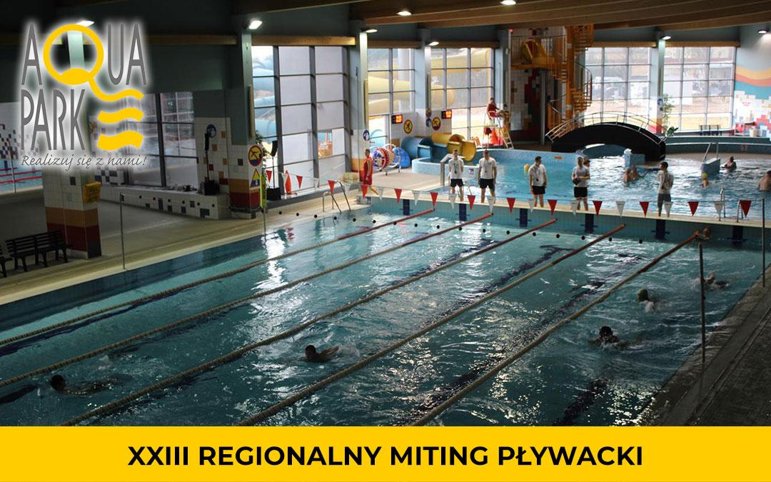 XXIII Regionalny Miting Pływacki
