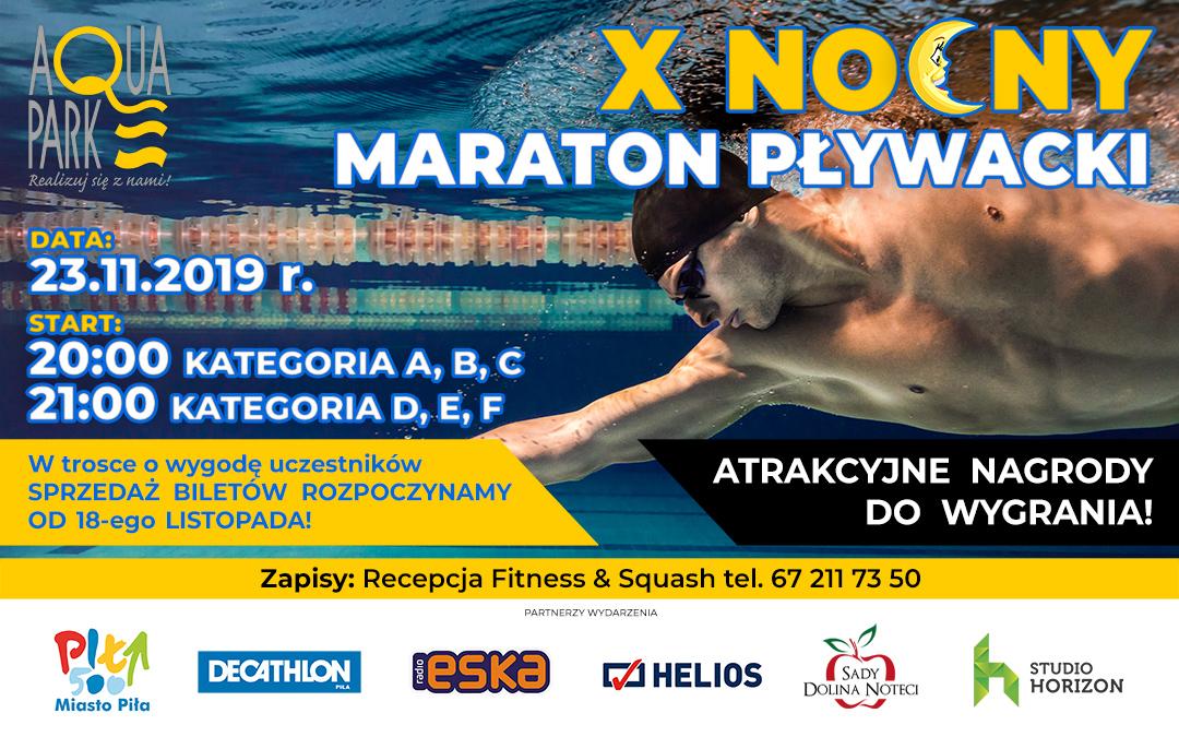 X Nocny Maraton Pływacki!