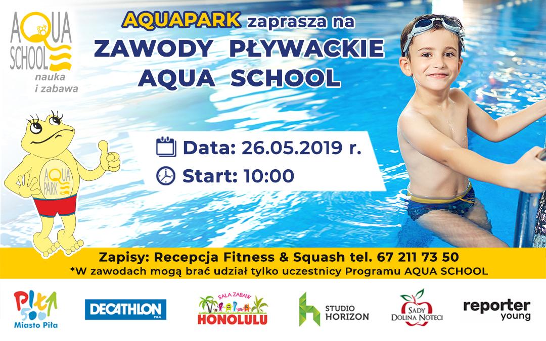 Zawody pływackie AQUA SCHOOL
