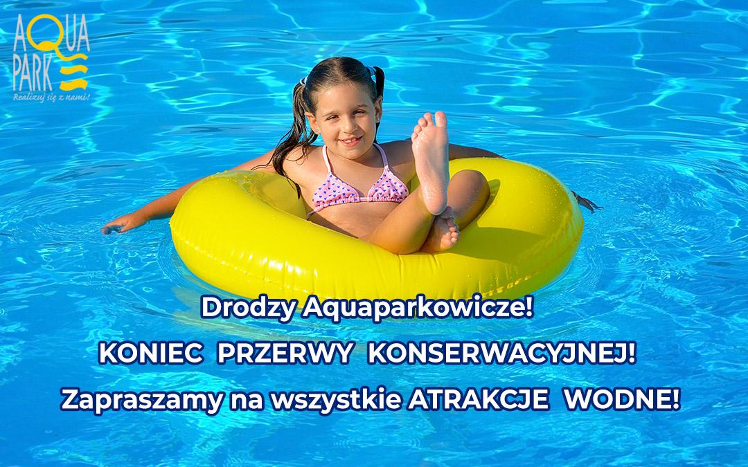 Drodzy Aquaparkowicze!